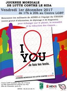 Permanence de Gaytitudes 17h - 20h  Centre LGBT