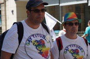 Gay Pride 2017 Jean-Marie et David